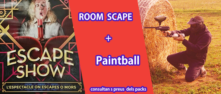 Room scape i Paintball